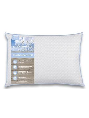 ISO-PEDIC - Pillow Tranquility Fresh Linen Jumbo Pillow WHITE