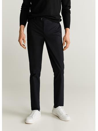 MANGO - Dublin6 Trousers 99BLACK