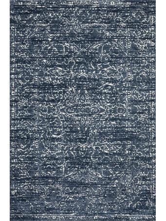 MAGNOLIA HOME - Lotus Rug Collection BLUE/CREAM