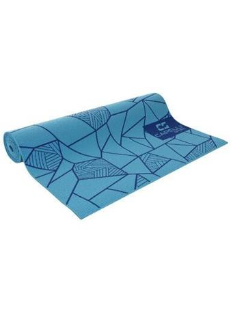 CAPELLI - 4Mm Yoga Mat Stained Glass BLUE COMBO