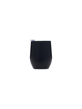 32°N - Stainless Steel Vacuum Insulated 12oz Wine Tumbler with Slider Lid BLACK