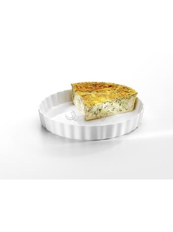 SYMPHONY - Alfresco 24CM Quiche Dish No Color