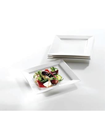 SYMPHONY - Alfresco Small Square Plates Set Of 4 No Color