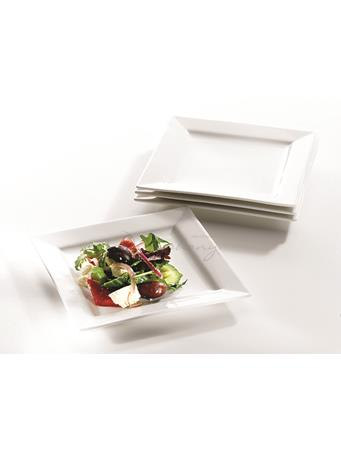 SYMPHONY - Alfresco Small Square Plates Set Of 4 No Color