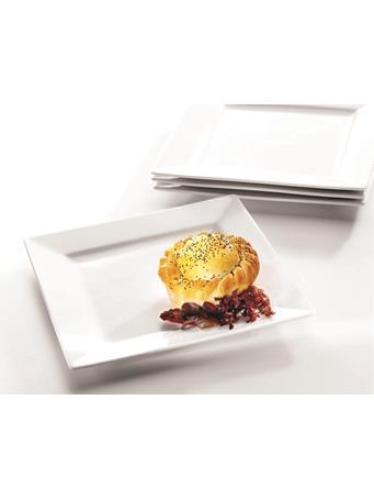 SYMPHONY - Alfresco Large Square Plates Set Of 4 No Color