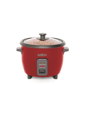 SALTON - 6 Cup Rice Cooker  RED