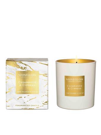 STONEGLOW - Luna Cedarwood & Cypress Candle  NO COLOUR