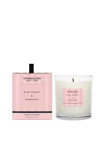 STONEGLOW - Modern Classics Pink Peony & Gardenia Candle  NO COLOUR