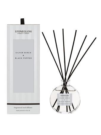 STONEGLOW - Modern Classics Silver Birch & Black Pepper Reed Diffuser NO COLOUR