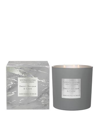 STONEGLOW - Luna Sweet Balsam & Cade 3-Wick Candle NO COLOUR