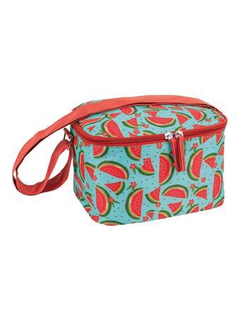 PORTA - 4Pc. Watermelon Lunch Bag Set  RED