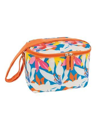 PORTA - 4Pc. Tropical Flora Lunch Bag Set  MULTI