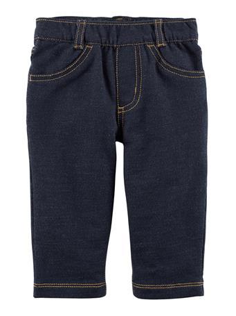 CARTER'S - Pull-On Denim Style Pant  DENIM BLUE