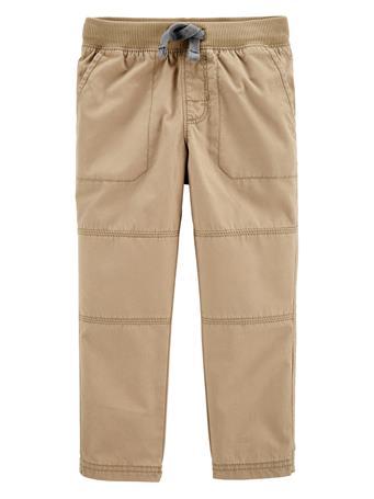 CARTER'S - Reinforced Knee Pull-On Pant KHAKI