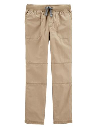 CARTER'S - Reinforced Knee Pull-On Pant KHAKI