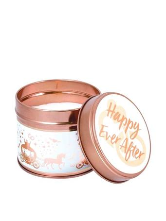 STONEGLOW - Happy Ever After Milestone Tin Candle - Cranberry  HAPPY EVER