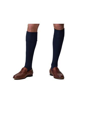 Bermuda Sock Full Length NAVY