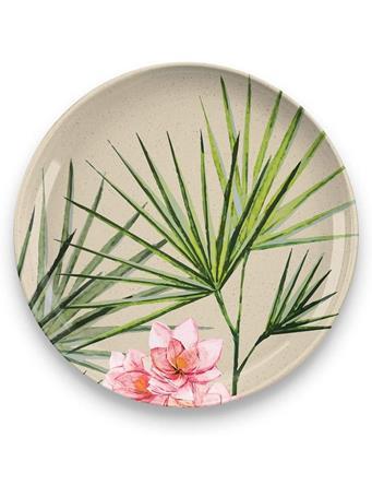 TARHONG - Palermo Tropical Bamboo Salad Plate No Color
