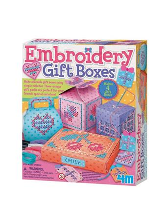 Embroidery Gift Boxes Kit NO COLOR
