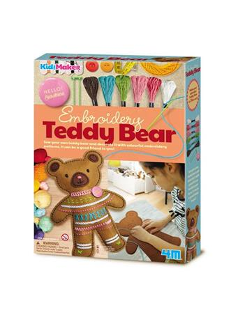 Kidz Maker Embroidery Teddy Bear NO COLOR