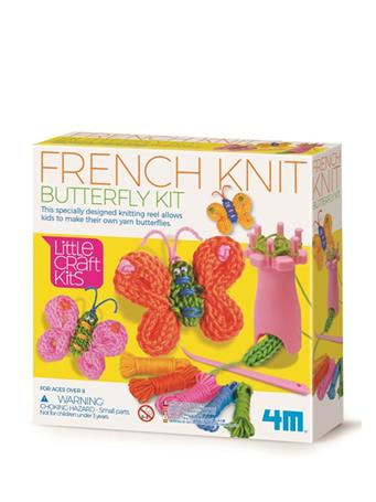 French Knit Butterfly Craft Kit NO COLOR