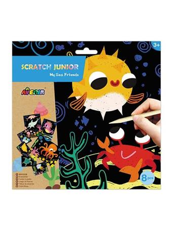 Scratch Junior My Sea Friends Craft Set NO COLOR