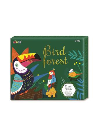 Bird Forest Cross Stitch Craft Set NO COLOR