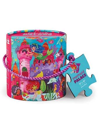 CROCODILE CREEK - Mermaid Palace 24 Piece Mini Canister Puzzle NO COLOR