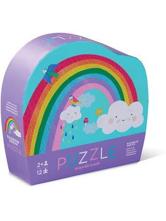CROCODILE CREEK - Rainbow Heaven 12 Piece Mini Puzzle NO COLOR