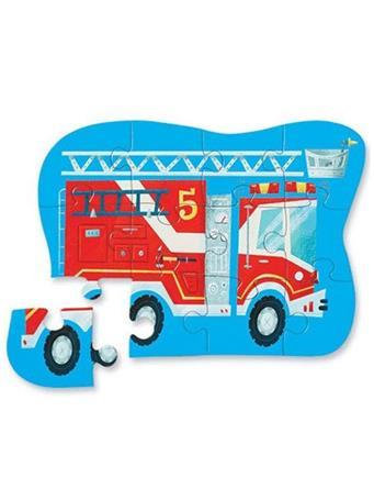 CROCODILE CREEK - Fire Truck 12 Piece Mini Puzzle NO COLOR