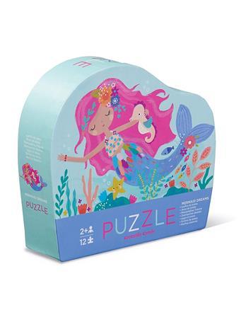 CROCODILE CREEK - Mermaid Dreams 12 Piece Mini Puzzle NO COLOR