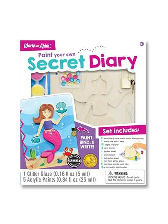 WORKS OF AHHHH Secret Diary Paint Kit NO COLOR