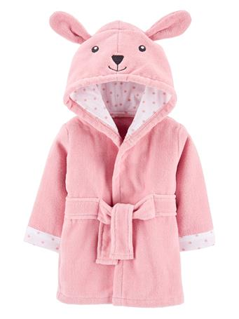 CARTER'S - Bunny Hooded Robe PINK