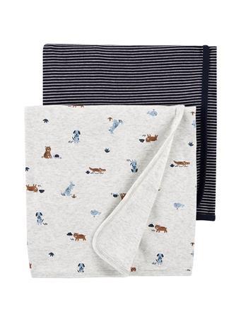 CARTER'S - 2 Pack Blankets MULTI