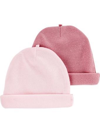 CARTER'S - 2 Pack Hats MULTI