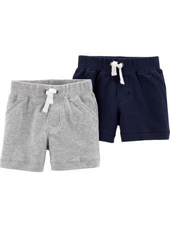 CARTER'S - 2 Pack Pull-On Shorts MULTI
