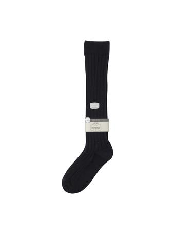 Cotton Ribbed Long School Socks NAVY