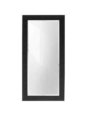 SYLECRAFT - Black Wooden Mirror BLACK