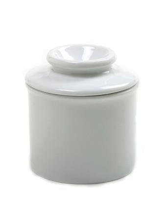 NORPRO - White Ceramic Butter Keeper WHITE