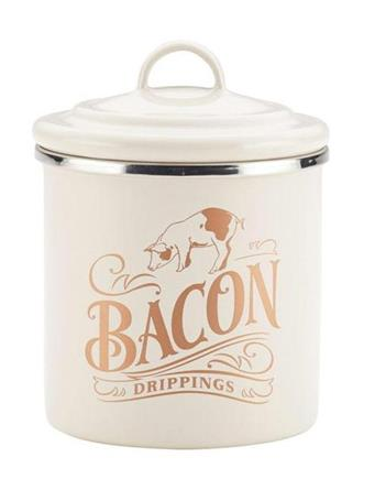AYESHA CURRY COLLECTION - Bacon Grease Can IVORY