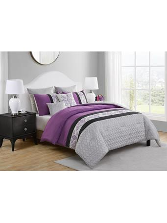 VCNY - Marco 7 Piece Comforter Set LAVENDER