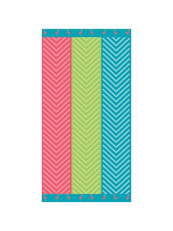 BEACH TOWEL -    Cotton Jacquard Beach Towels MULTI
