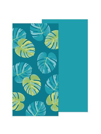 BEACH TOWEL -   Oversized Reversible Printed Beach Towels BLUE