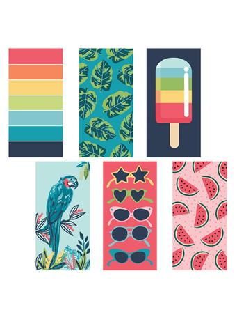 BEACH TOWEL - Printed Beach Towels MULTI