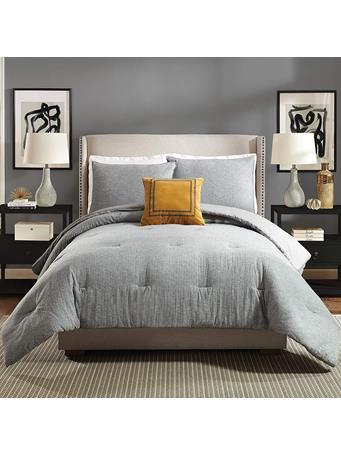 AYESHA CURRY - Asher 3-Piece Comforter Set GRAY