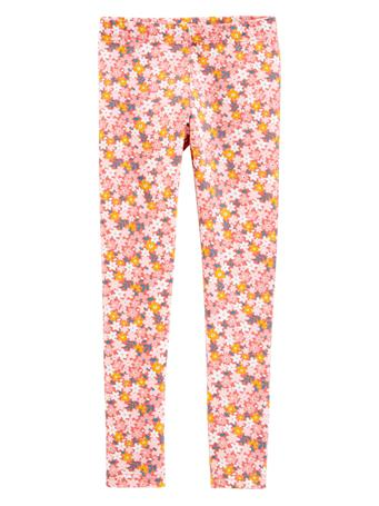 CARTER'S - Printed Leggings - Girl 5-8 PINK