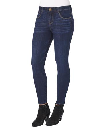 DEMOCRACY - Luxe High Rise Ab solution Ankle Length Skinny Jean INDIGO