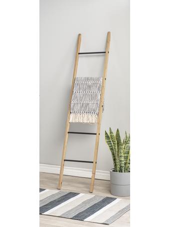 GANZ - Wooden Ladder Display Stand WOOD