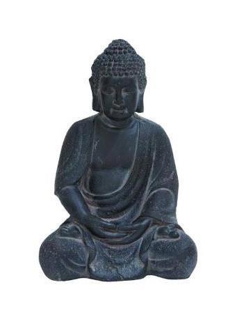 UMA  - Large Buddha Statue in Grey GREY