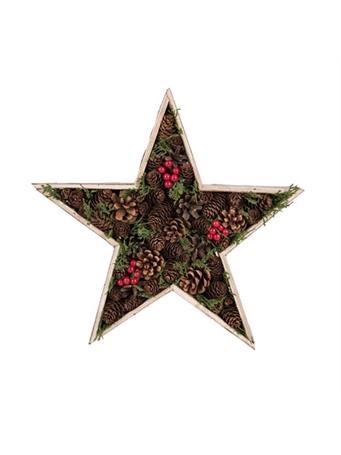 TRANSPAC - Star Floral Box Décor NOVELTY